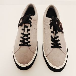 NWT Converse One Star Suede Leather shoes